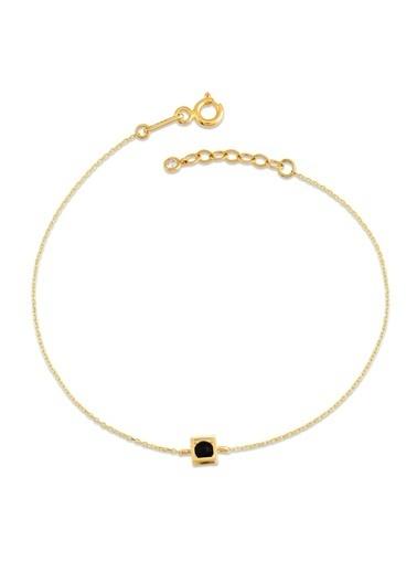 Piano Jewellery Gravity Küp Onix Altın Bileklik 14 Ayar Altın